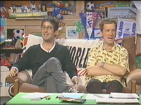 World Cup Live - ITV - 1998 - David Baddiel and Frank Skinner
