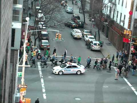 NYC private St Patricks parade for sick Combat Veteran