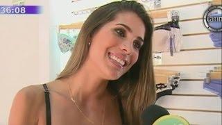 Vanessa Tello inaugura su primera tienda de lencería