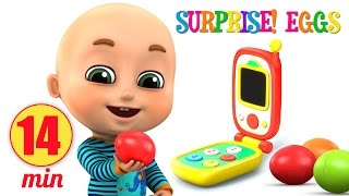 Surprise Eggs Toy | Mobile and Video game toy for Kids | Surprise Eggs videos from Jugnu kids