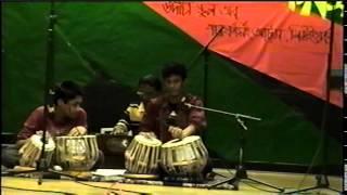 Udichi Newyork USA 2007(1)(Song and Tabla Lahara in Bijoy Dibos at Udichi School)