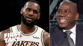 Magic laughs at the idea of the Lakers trading LeBron | First Take