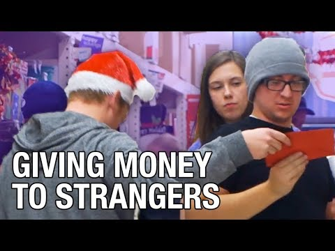 Anonymously Giving Strangers 200
