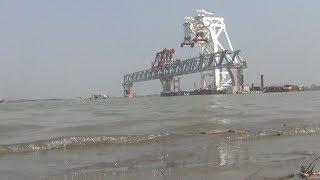 দৃশ্যমান হলো পদ্মা সেতুর ৩০০ মিটার || Prothom Alo News