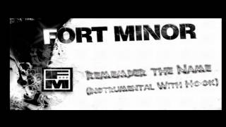 Fort Minor - Remember The name (Instrumental With Hook)