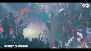 Rayvanny live performance in Zanzibar Chazabeach Club