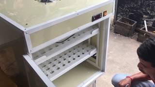 Homemade incubator in Cambodia, 176 eggs hatching auto incubator, 03 Dec 2017