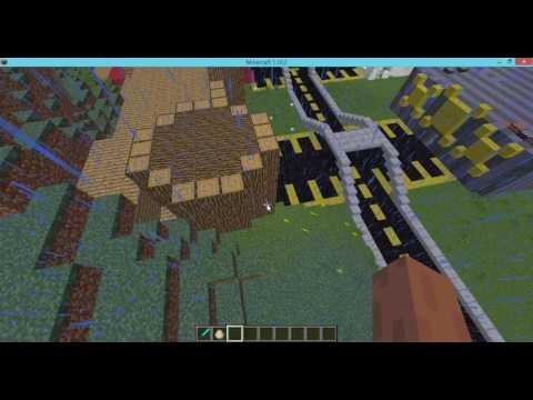 minecraft şehir yapıyoruz bölüm 8 tiyatro bitti