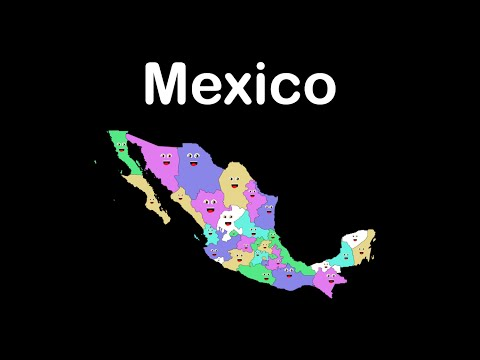 watch Mexico States Song/Mexico States and Capitals