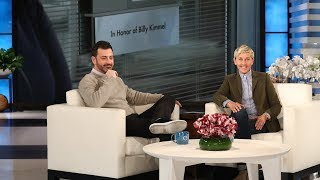 Ellen Surprises Jimmy Kimmel with a Dedication to His Son