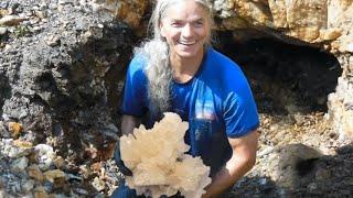 Mine Cristal, mining quartz crystals