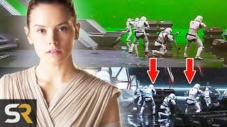 20 Amazing Movie Scenes Before and After Visual Effects