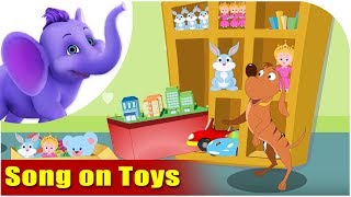 Song on Toys - Five Toys in Ultra HD (4K)