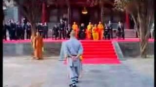 Vladimir Putin at shaolin temple in china