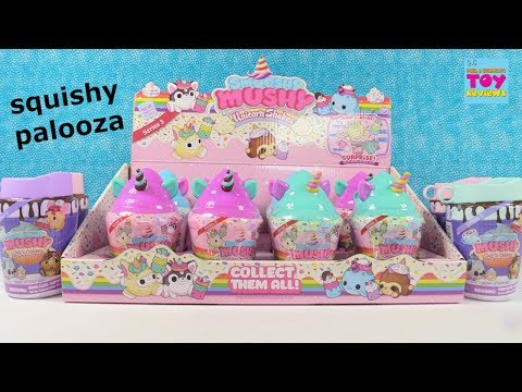 Smooshy Mushy Unicorn Shakes Cup N Cakes Toy Squishy Unboxing PSToyReviews