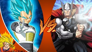 VEGETA vs THOR! Cartoon Fight Club Episode 76 REACTION!!!