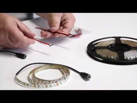 How to cut, connect & power LED Strip Lighting