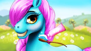 My Little Pony Girls | Play With Dream Horse Care Resort | Pony Hair Salon Kids Game
