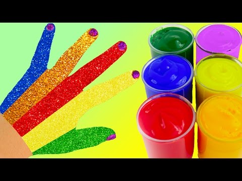 Learn Colors Play Doh Zoo Animal Elephant Ice Cream Body Paint Surprise Finger Family Nursery Rhymes