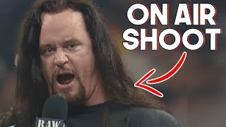 10 Rare Moments and times The Undertaker Broke Character On Camera!