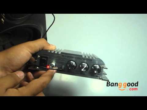 Review Amplificador 2.1 HiFi Automotivo / Residencial