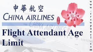 Flight attendant age limit china airlines | how to become a flight attendant in china airlines