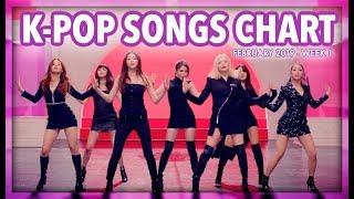 K-POP SONGS CHART | FEBRUARY 2019 (WEEK 1)