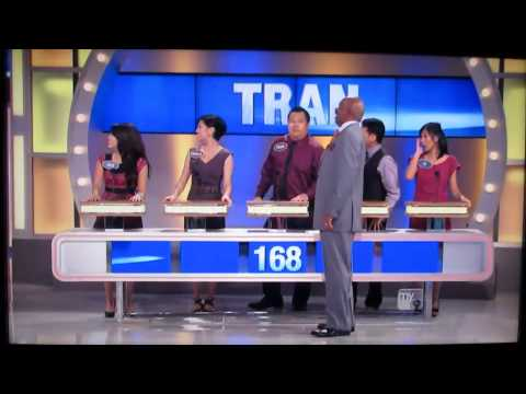 Family Feud BEST EPISODE EVER Tran Family
