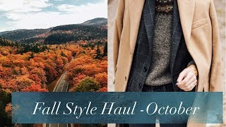 Fall Style Haul And Try On   & Other Stories, Levi's, Rails, Anthropologie