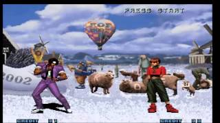 The King Of Fighters 2002 super magic plus (verde o la tramposa)