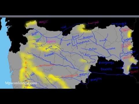 Physical Geography of Maharashtra (मराठी)