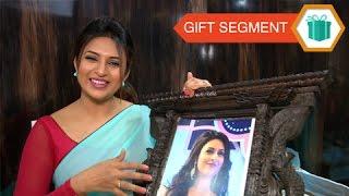 Divyanka Tripathi - GIFT SEGMENT Part 1 - Exclusive Tellymasala