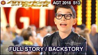 Angel Garcia FULL STORY OR BACKSTORY America's Got Talent 2018 Audition AGT
