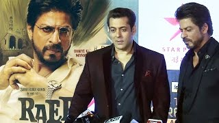 Download (Video) Salman Khan's REACTION On Shahrukh Khan's RAEES 3Gp Mp4