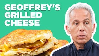 Geoffrey Zakarian Makes Iron Chef Grilled Cheese | Food Network