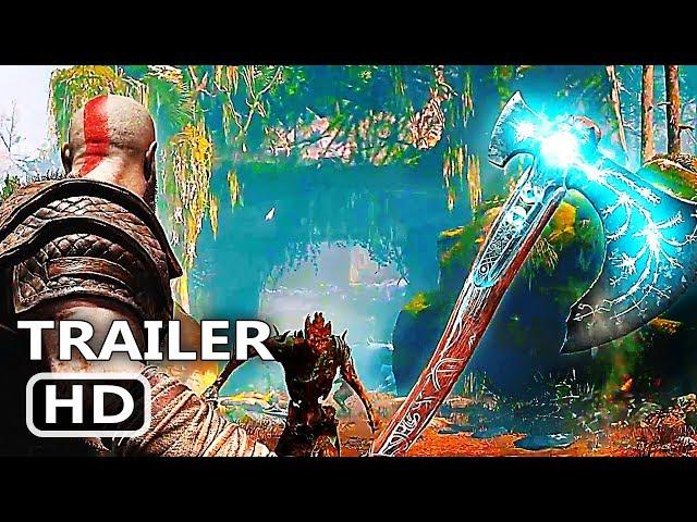 PS4 - God Of War Story Trailer (2018) God Of War 4