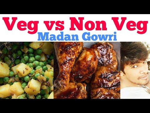 Xxx Mp4 Vegetarian Vs Non Vegetarian Tamil Madan Gowri MG 3gp Sex