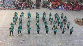 Hội trại truyền thống-Giải nhất Flashmob 12D4 THPT Gia Định năm 2017 [D41417]