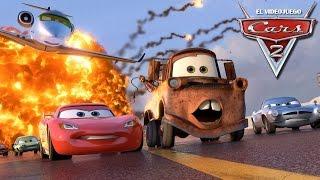 Cars 2 ESPAÑOL PELICULA COMPLETA del juego Rayo McQueen l Juegos de películas infantiles