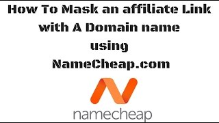 How Mask an Affiliate link Domain Name Tutorial