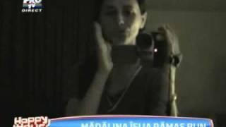 Madalina Manole s-a filmat în oglinda  inainte sa plece dintre noi