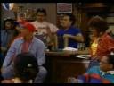 fire marshall Bill at a american football pub