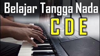 Tips menyusun Tangga Nada C, D dan E Mayor | Belajar Piano Keyboard