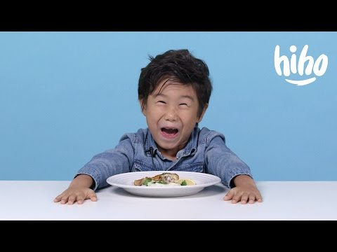 French Food American Kids Try Food from Around the World Ep 5 Kids Try Cut