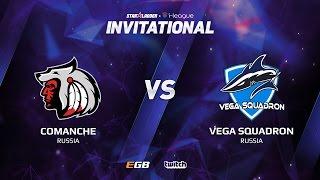 Comanche vs Vega Squadron, Game 1, SL i-League Invitational S2, EU Qualifier