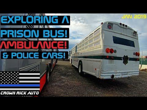 Xxx Mp4 Exploring A Prison Bus Ambulance Police Cars Crown Rick Auto 3gp Sex