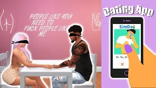 BLIND DATES & HOOK UP CALLS?! 🍆💖 | DATING APP MOD REVIEW | The Sims 4