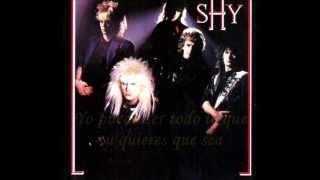 Shy -  just love me (sub - esp)