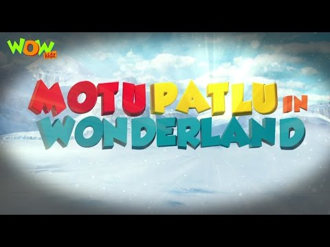 Motu Patlu In Wonderland Part 02| Movie| Movie Mania - 1 Movie Everyday | Wowkidz
