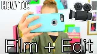 How To Film And Edit Videos With Your Smartphone! iPod, iPad, iPhone, etc. || Chloe's Crazy Life